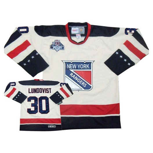 76162b211 Reebok New York Rangers 30 Men's Henrik Lundqvist Authentic White Winter  Classic NHL Jersey