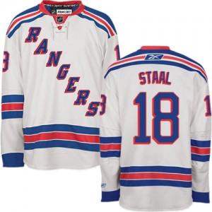 Reebok New York Rangers 18 Men's Marc Staal Premier White Away NHL Jersey