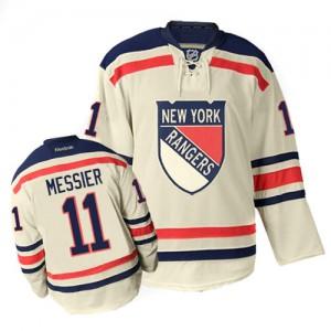 Reebok New York Rangers 11 Men's Mark Messier Premier Cream Winter Classic NHL Jersey