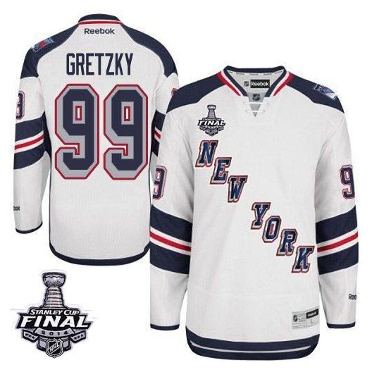 Reebok New York Rangers 99 Men s Wayne Gretzky Premier White 2014 Stadium  Series 2014 Stanley Cup NHL Jersey 44daf17cb