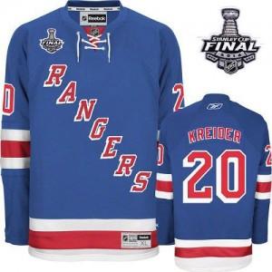 ... Jersey Reebok New York Rangers 20 Mens Chris Kreider Authentic Royal  Blue Home 2014 Stanley Cup NHL ... 356884155
