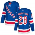 Adidas New York Rangers Men's Tomas Sandstrom Authentic Royal Blue Home NHL Jersey