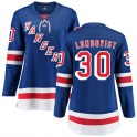 Fanatics Branded New York Rangers Women's Henrik Lundqvist Breakaway Blue Home NHL Jersey