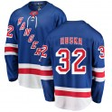 Fanatics Branded New York Rangers Men's Adam Huska Breakaway Blue Home NHL Jersey