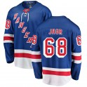Fanatics Branded New York Rangers Men's Jaromir Jagr Breakaway Blue Home NHL Jersey