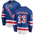 Fanatics Branded New York Rangers Men's Alexis Lafreniere Breakaway Blue Home NHL Jersey
