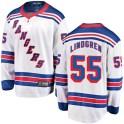 Fanatics Branded New York Rangers Youth Ryan Lindgren Breakaway White Away NHL Jersey