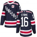 Adidas New York Rangers Youth Ryan Strome Authentic Navy Blue 2018 Winter Classic Home NHL Jersey