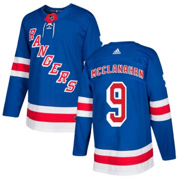 Adidas New York Rangers Men's Rob Mcclanahan Authentic Royal Blue Home NHL Jersey