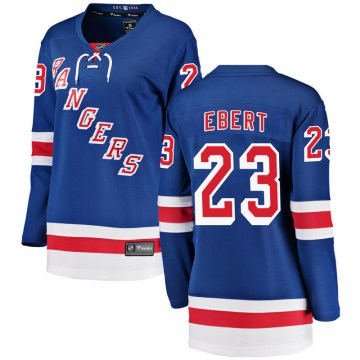 Fanatics Branded New York Rangers Women's Nick Ebert Breakaway Blue Home NHL Jersey