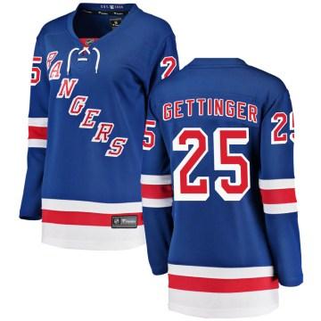 Fanatics Branded New York Rangers Women's Tim Gettinger Breakaway Blue Home NHL Jersey