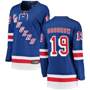 Fanatics Branded New York Rangers Women's Barclay Goodrow Breakaway Blue Home NHL Jersey