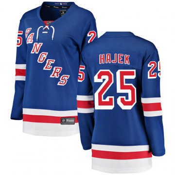 Fanatics Branded New York Rangers Women's Libor Hajek Breakaway Blue ized Home NHL Jersey