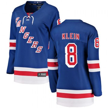 Fanatics Branded New York Rangers Women's Kevin Klein Breakaway Blue Home NHL Jersey