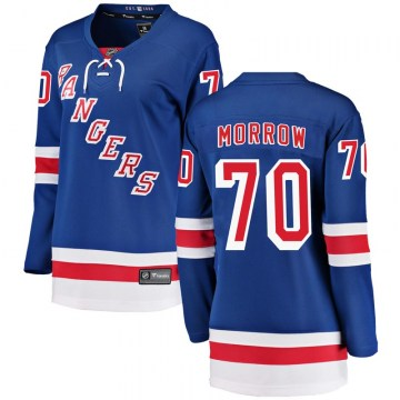 Fanatics Branded New York Rangers Women's Joe Morrow Breakaway Blue Home NHL Jersey