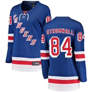 Fanatics Branded New York Rangers Women's Malte Stromwall Breakaway Blue Home NHL Jersey