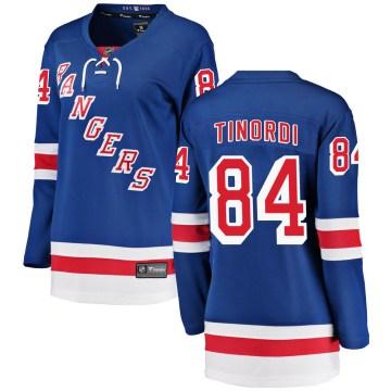Fanatics Branded New York Rangers Women's Jarred Tinordi Breakaway Blue Home NHL Jersey