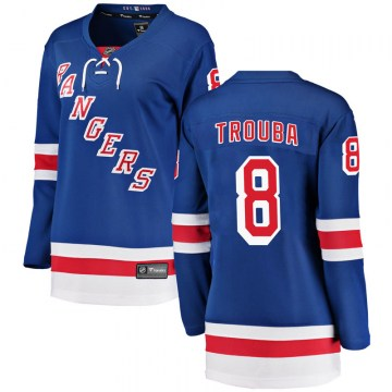 Fanatics Branded New York Rangers Women's Jacob Trouba Breakaway Blue Home NHL Jersey