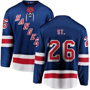Fanatics Branded New York Rangers Men's Martin St. Louis Breakaway Blue Home NHL Jersey