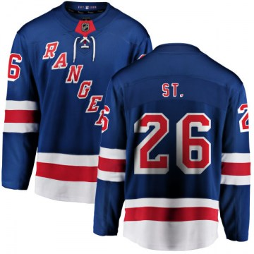 Fanatics Branded New York Rangers Youth Martin St. Louis Breakaway Blue Home NHL Jersey