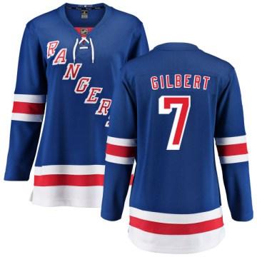 Fanatics Branded New York Rangers Women's Rod Gilbert Breakaway Blue Home NHL Jersey