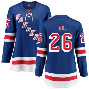 Fanatics Branded New York Rangers Women's Martin St. Louis Breakaway Blue Home NHL Jersey