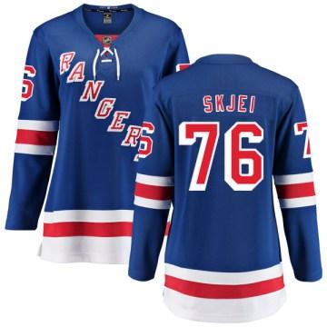 Fanatics Branded New York Rangers Women's Brady Skjei Breakaway Blue Home NHL Jersey