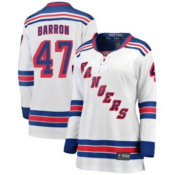 Fanatics Branded New York Rangers Women's Morgan Barron Breakaway White Away NHL Jersey