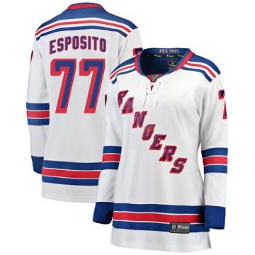 Fanatics Branded New York Rangers Women's Phil Esposito Breakaway White Away NHL Jersey