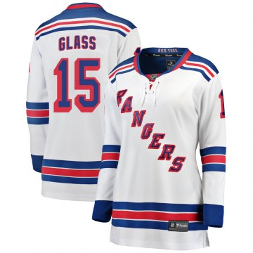 Fanatics Branded New York Rangers Women's Tanner Glass Breakaway White Away NHL Jersey