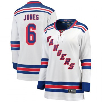 Fanatics Branded New York Rangers Women's Zac Jones Breakaway White Away NHL Jersey
