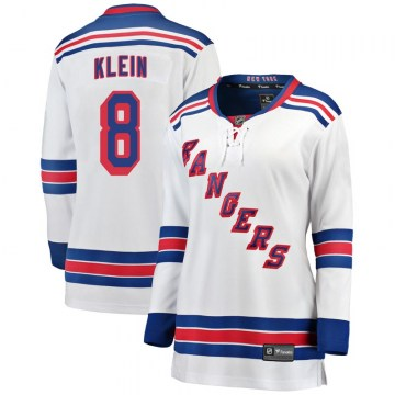 Fanatics Branded New York Rangers Women's Kevin Klein Breakaway White Away NHL Jersey