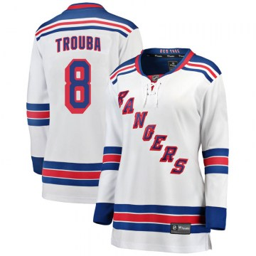 Fanatics Branded New York Rangers Women's Jacob Trouba Breakaway White Away NHL Jersey