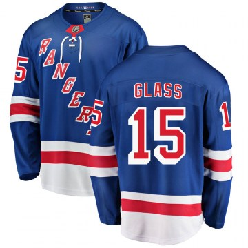 Fanatics Branded New York Rangers Men's Tanner Glass Breakaway Blue Home NHL Jersey