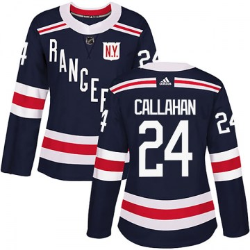 Adidas New York Rangers Women's Ryan Callahan Authentic Navy Blue 2018 Winter Classic Home NHL Jersey