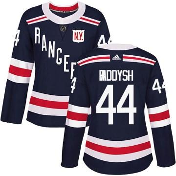 Adidas New York Rangers Women's Darren Raddysh Authentic Navy Blue ized 2018 Winter Classic Home NHL Jersey