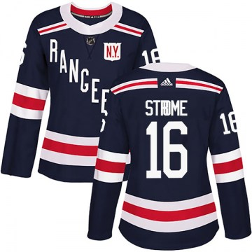 Adidas New York Rangers Women's Ryan Strome Authentic Navy Blue 2018 Winter Classic Home NHL Jersey