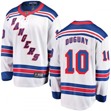 Fanatics Branded New York Rangers Youth Ron Duguay Breakaway White Away NHL Jersey