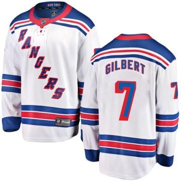 Fanatics Branded New York Rangers Youth Rod Gilbert Breakaway White Away NHL Jersey