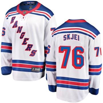 Fanatics Branded New York Rangers Youth Brady Skjei Breakaway White Away NHL Jersey