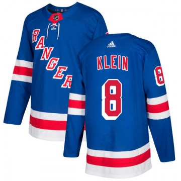 Adidas New York Rangers Men's Kevin Klein Authentic Royal NHL Jersey