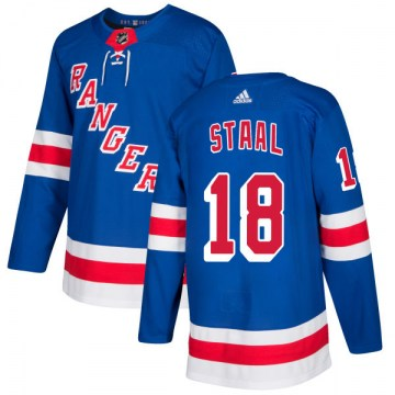 Adidas New York Rangers Men's Marc Staal Authentic Royal NHL Jersey
