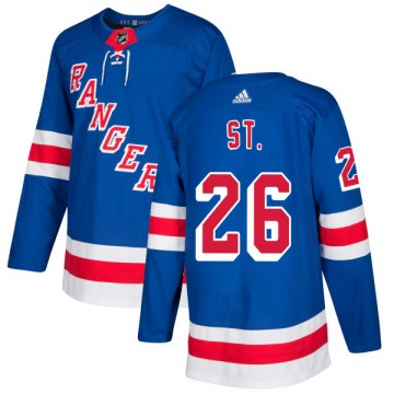 Adidas New York Rangers Men's Martin St. Louis Authentic Royal NHL Jersey