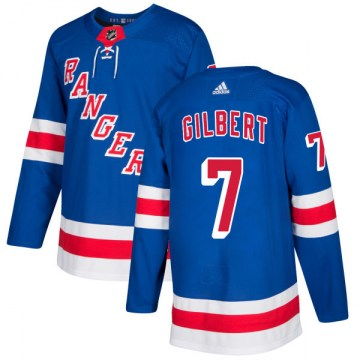 Adidas New York Rangers Men's Rod Gilbert Authentic Royal NHL Jersey