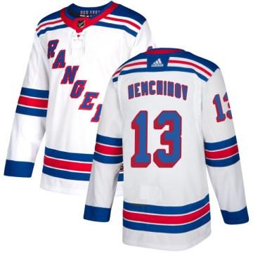 Adidas New York Rangers Men's Sergei Nemchinov Authentic White NHL Jersey
