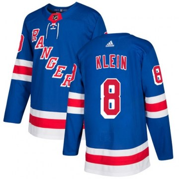 Adidas New York Rangers Youth Kevin Klein Authentic Royal Blue Home NHL Jersey