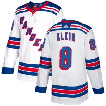 Adidas New York Rangers Youth Kevin Klein Authentic White Away NHL Jersey