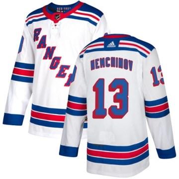 Adidas New York Rangers Women's Sergei Nemchinov Authentic White Away NHL Jersey